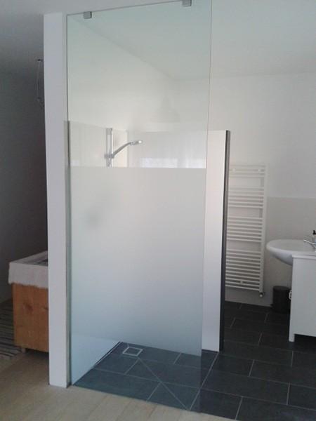 Vetro per box doccia - Doccia a soffitto ...