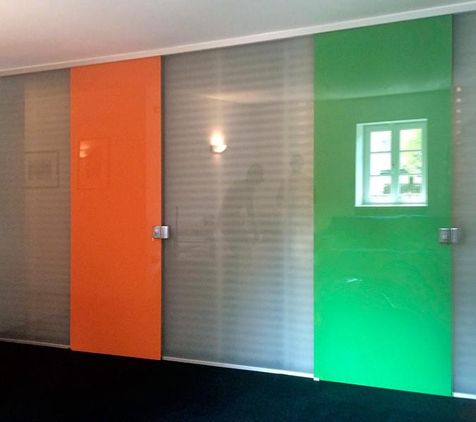 Porte per interni in cristallo - Verniciare finestre ...
