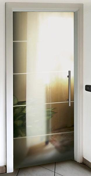 Porte per interni in cristallo - Porte va e vieni per interni ...